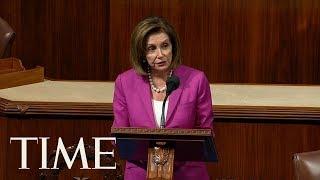 House Speaker Nancy Pelosi Calls President Trump's Remarks 'Racist' On The Floor Of The House | TIME