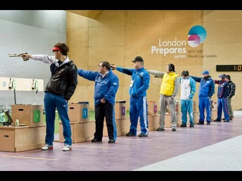 Finals 10m Air Pistol Men - ISSF World Cup in all events 2012, London (GBR)