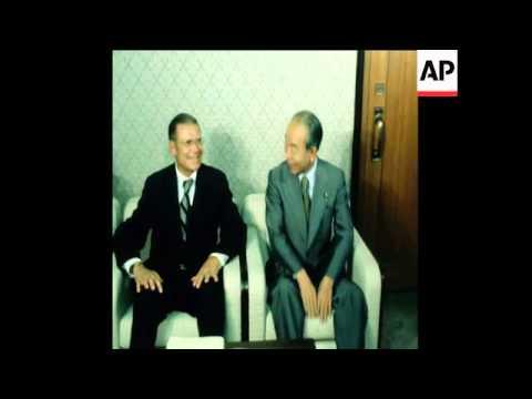 SYND 9 6 78 PRIME MINISTER FUKUDA MEETS WORLD BANK PRESIDENT MCNAMARA IN TOKYO