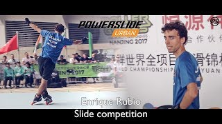Enrique Rubio SLIDE competitions at Rollergames Nanjing 2017 - Powerslide Inline skates