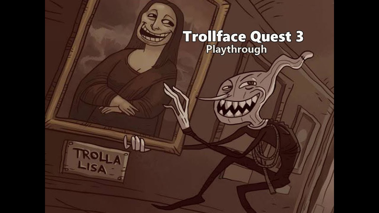 Trollface Quest 3 - Walkthrough - YouTube