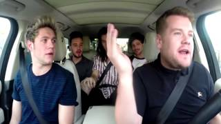 """Best Version"" of Drag Me Down - Carpool Karaoke with One Direction"