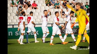 HIGHLIGHTS : Cercle Bruges 2-3 AS Monaco (Jovetic, Lopes, Geubbels)
