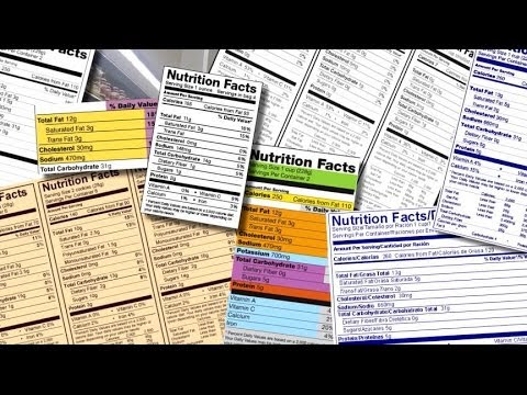 FDA to Change Food Labels, Serving Sizes
