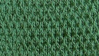 Рельефный узор Вязание спицами Видеоурок 213