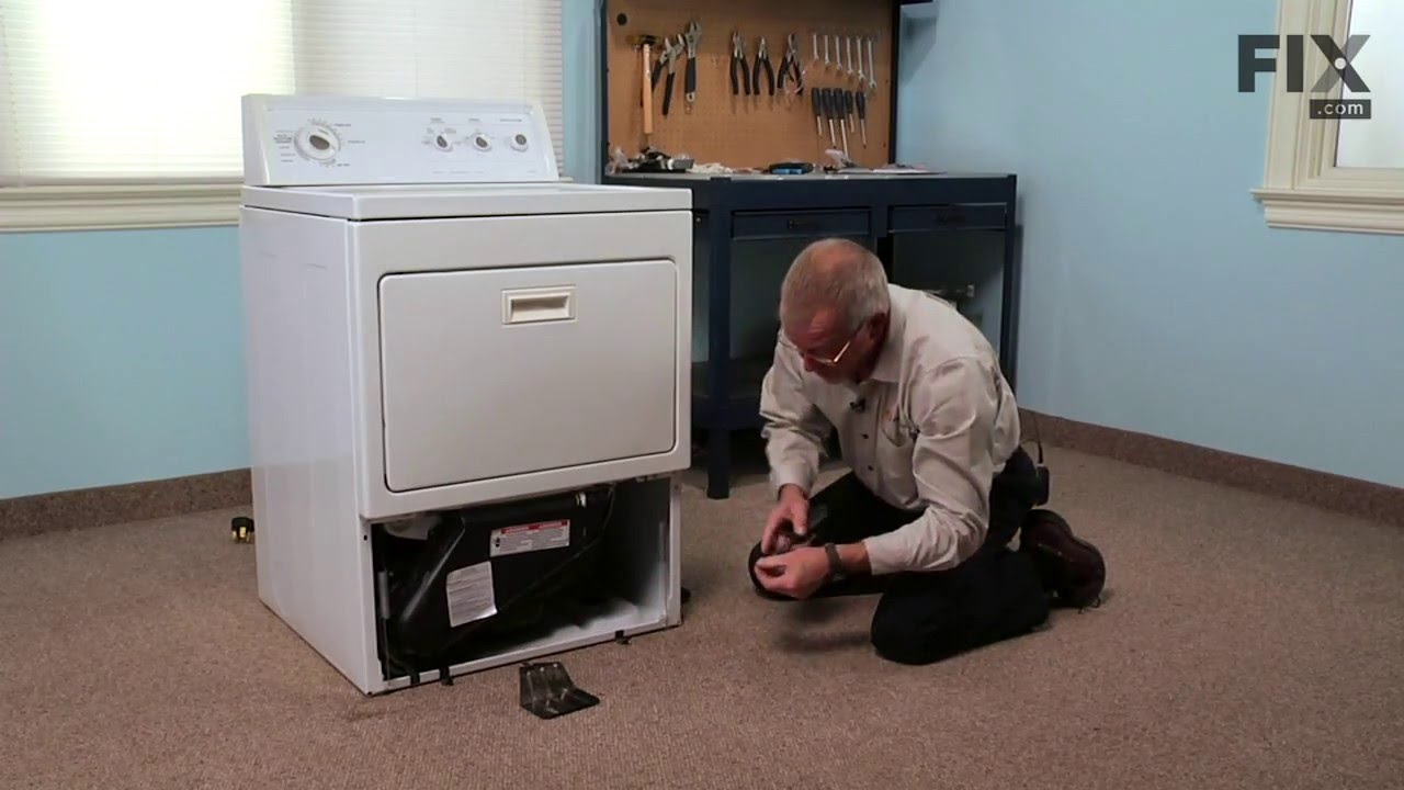 Kenmore Dryer Repair How To Replace The Thermostat 250f Youtube Diagram
