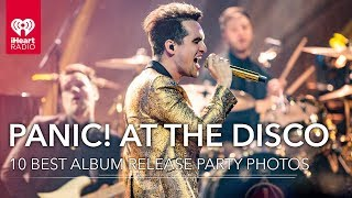 10 Best Brendon Urie + Panic! At The Disco Photos From iHeartRadio Album Release Party