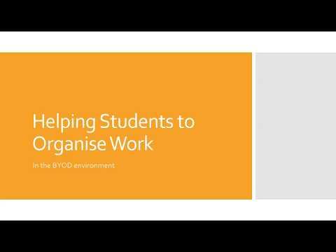 Organising Student Work