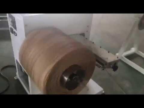 видео: Станок для перемотки бумажного шпагата fy-400