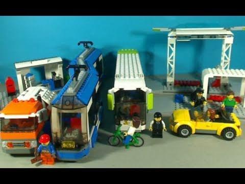Lego Public Transport Station 8404 Youtube