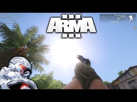 ARMA 3 Apex vs CRYSIS Graphics Comparison [Maximum Settings]