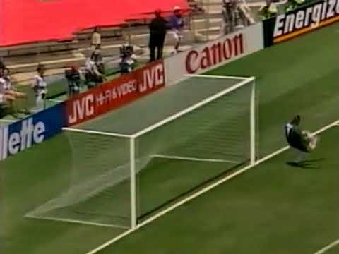 World Cup 1994. Group A. Romania - USA. Highlights.
