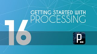 Processing tutorial - 16 - Bouncing in all directions in Processing