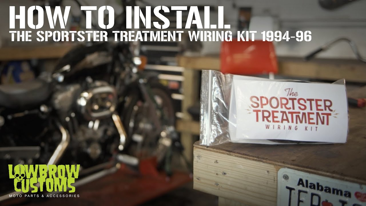 How To Install: The Sportster Treatment Wiring Kit for 1994-96  Harley-Davidson Sportsters - YouTube   Sportster Wiring Harness      YouTube
