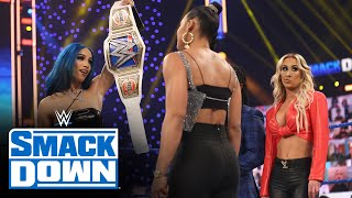 Bianca Belair's attempt to name her WrestleMania opponent goes south: SmackDown, Feb. 5, 2021
