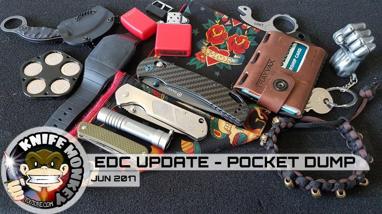 everyday carry pocket dump