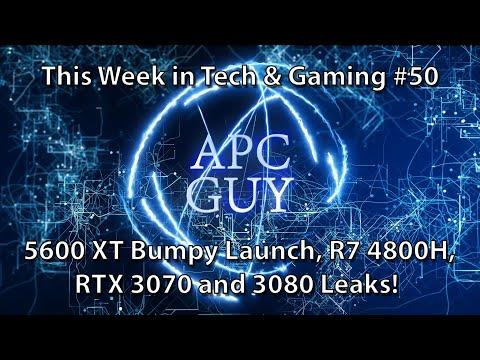5600 XT Launch & VBIOS Drama, RTX 3080 / 3070 Leaks, R7 4800H Spotted - TWIT&G #50 -25/01/2020
