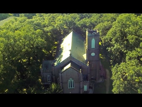 Aerial Tour of Grace Church of West Feliciana Parish