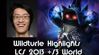 Wildturtle, NA Wildest ADC Highlights - NA LCS 2013 & S3 World