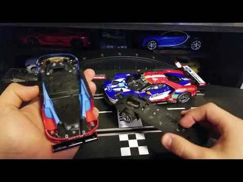 Carrera Digital 132 vs 124 – Ford GT Race Car