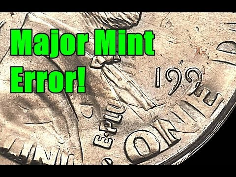 Dramatic Mint Error Created the First Ever 11 Cent Coin! - Check Your Pocket Change!
