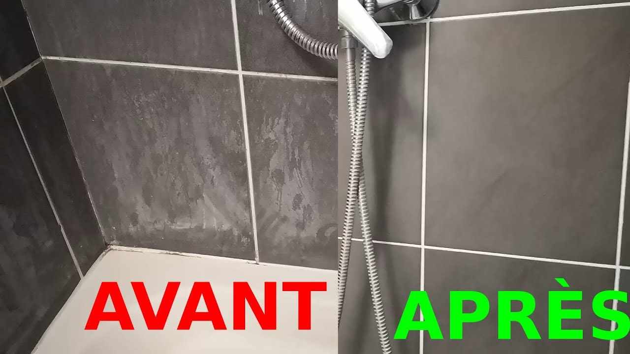 How to remove tartar from the walls of a shower stall