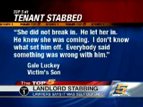 Landlord Accused of Killing Tenant