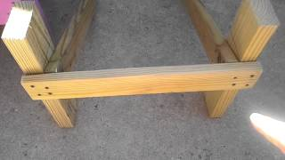 How To Build A Kid Size Adirondack Chair Part 1.