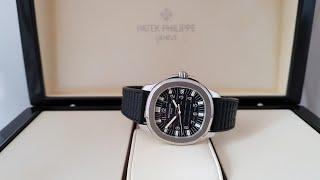 Обзор оригинальных часов Patek Philippe Aquanaut Ref. 5065A-001