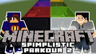 Minecraft Parkour: Simplistic Parkour 2 #1 w/ Undecided