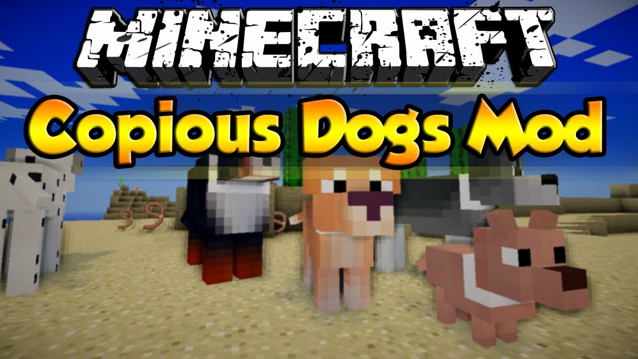 Minecraft More Dog Breed Texture Pack