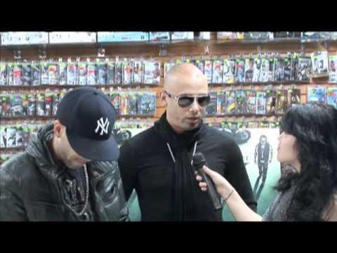 Kathy entrevista a Wisin y Yandel