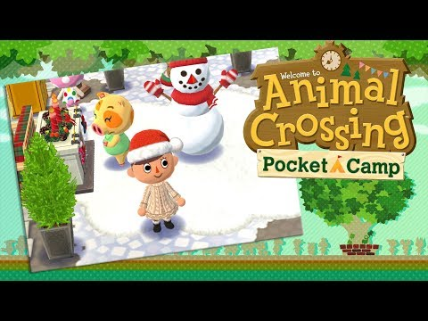 First Snowy Day in Camp! (Also Gardening News?!) 🌿 Animal Crossing: Pocket Camp • #3