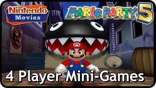 Mario Party 5 - All 4 Player Mini-Games