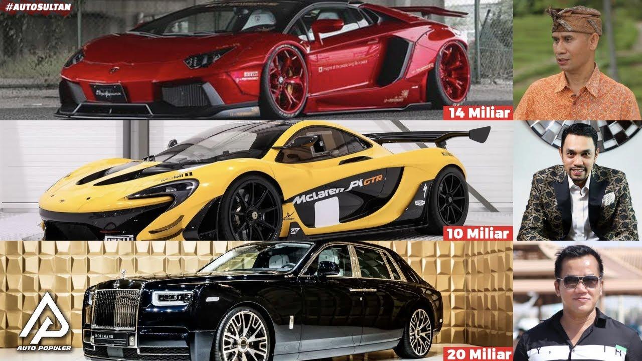 Mengintip Koleksi Mobil Mewah Pengusaha Kaya Indonesia Dari Raja Minyak Hingga Konglomerat Media Youtube