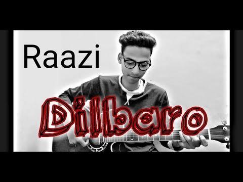 Dilbaro song guitar lesson || Raazi || easy guitar lesson || Guitar strings