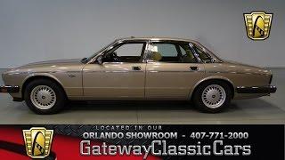 1989 Jaguar XJ-6 3.6L Gateway Classic Cars Orlando #431
