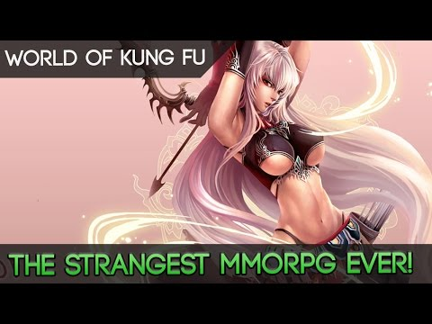 World Of Kung Fu - The Strangest Martial Arts MMORPG We've Ever Played!