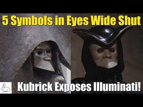 5 Symbols in Eyes Wide Shut  Kubrick Exposes Illuminati!
