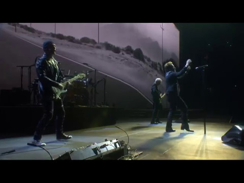 U2 - Where The Streets Have No Name, pro-shot from Vancouver Joshua Tree Tour 2017