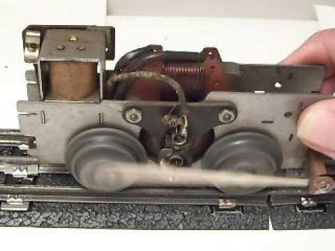 Vintage Marx Mercury Train Engine Motor Demonstration