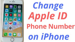 Gambar cover how to change apple id phone number on iphone