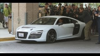 Audi R8 e-tron - IRON MAN 3 - BEHIND THE SCENES