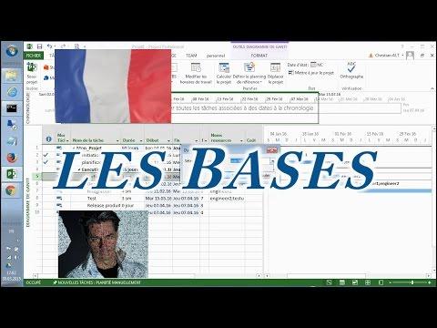 MS Project ●  Les bases  ●  En 20 minutes
