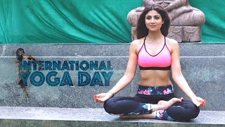 Shilpa Shetty performs her favourite yoga asana ahead of International Yoga Day