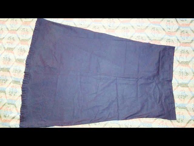 4 panel petticot cutting and stitching