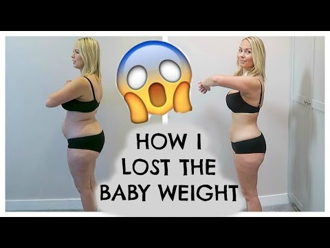 Thumbnail: HOW I LOST THE BABY WEIGHT | HOW I LOST 50 POUNDS!