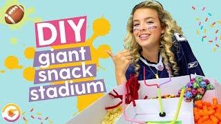 DIY Super Bowl Snack Stadium 🏟 | GoldieBlox