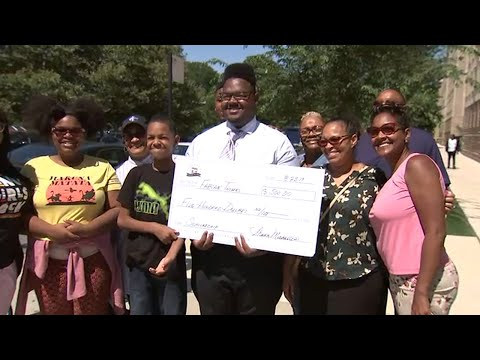 Trey White - DOPE! South Side ice cream shop serves up scholarships for college students