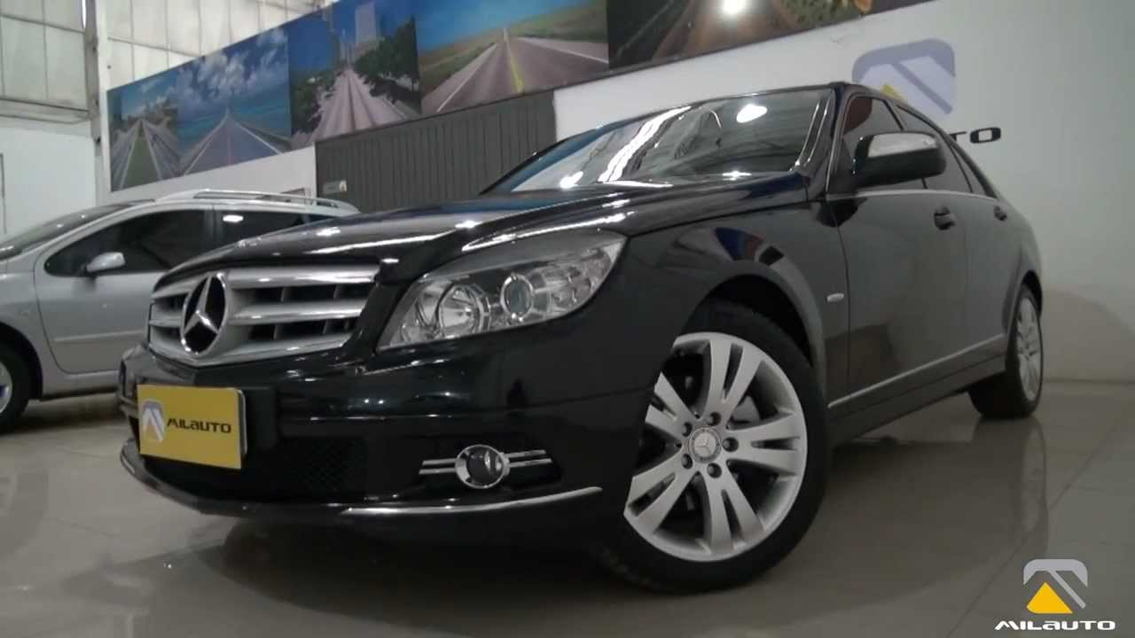 mercedes-benz c200 kompressor 2007/2008 - youtube